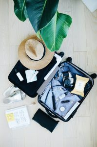 Image of a full suitcase.