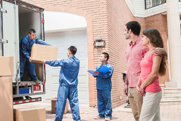 Loading Moving Trucks by the best movers in South Florida