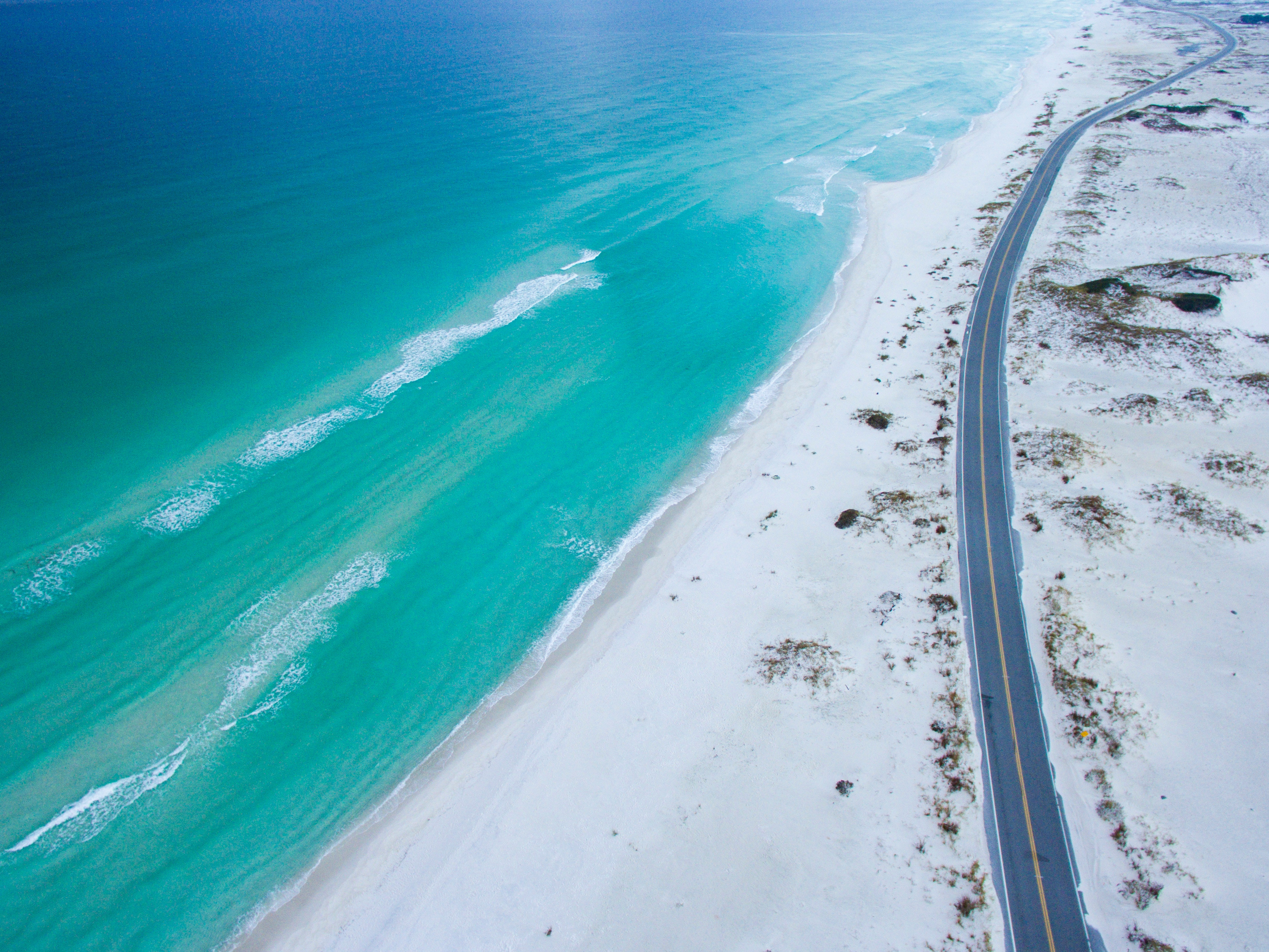 Image of the Florida's coastline.