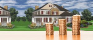 Coins in front of the house - lowering costs when moving home