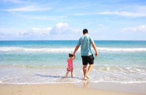 Best places for renters in Florida offer you some beaches - family photo.