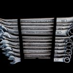 A whole BUNCH of wrenches.