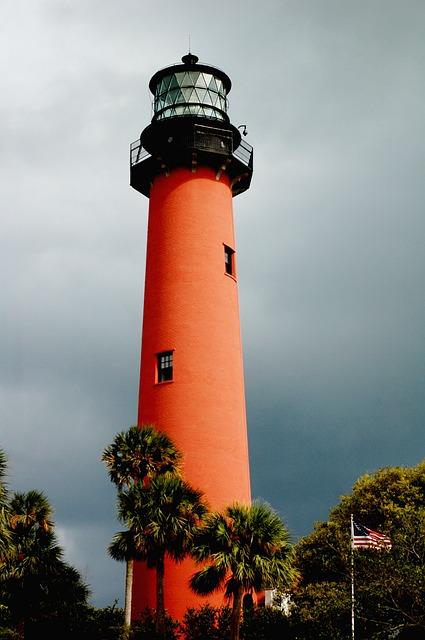 Lighthouse in Jupiter.