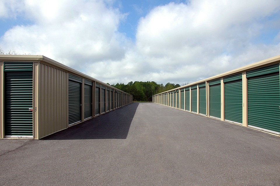 Climate controlled storage units.