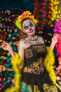 The Day of the Dead is one of the most popular festivals in Lake Worth