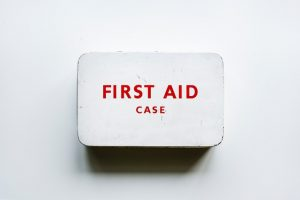 Help your movers by having a first-aid kit ready