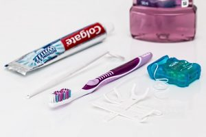 Dental hygiene kit.
