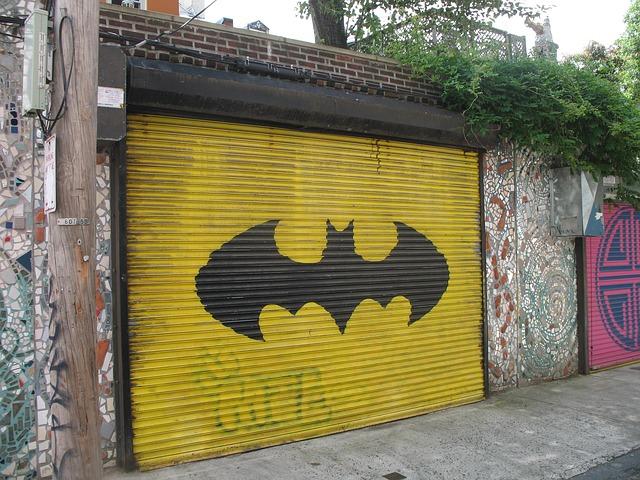 a Batman storage