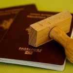 your passports go into the essentials box for moving