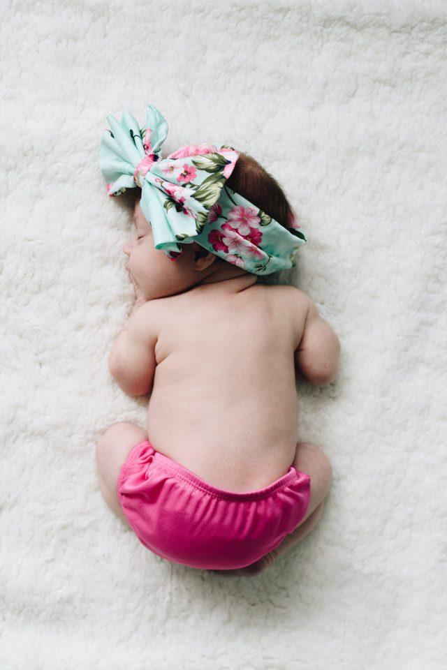 image of a sleeping baby