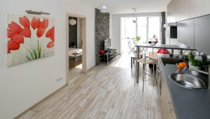 sell your apartment fast before moving to Miami by decorating your kitchen and dining room